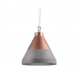 Craft S Concrete Pendant Lamp Copper