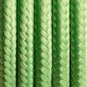 Round electric cable covered by polyester 09 Green clover 2x0.75
