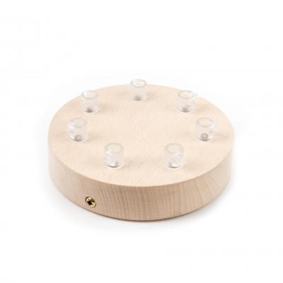 Drewniana osłonka sufitowa - siedmiokablowa