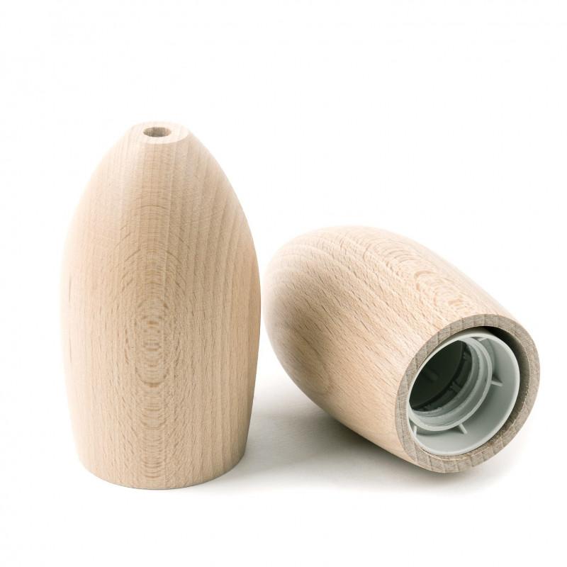 Oprawka drewniana typ A E27