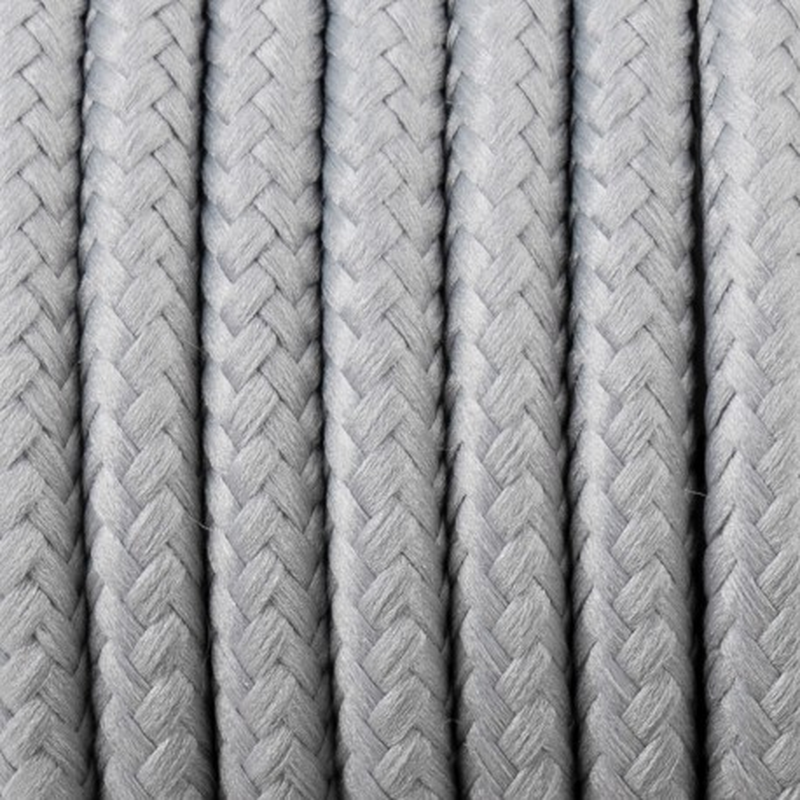 Kabel w oplocie poliestrowym 30 zebra dwużyłowy 2x0.75