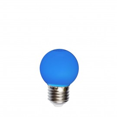 Żarówka do girland LED kulka 45mm 1W niebieska