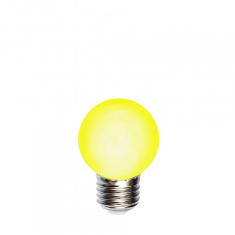 Żarówka do girland LED kulka 45mm 1W żółta
