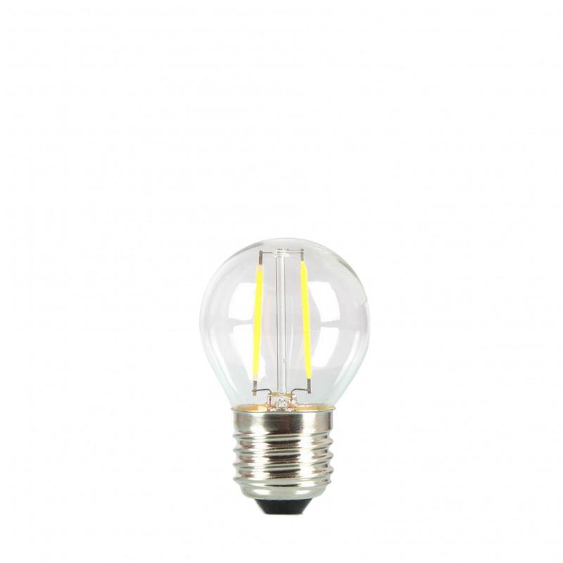 Żarówka do girland LED kulka 45mm 2W przezroczysta barwa ciepła