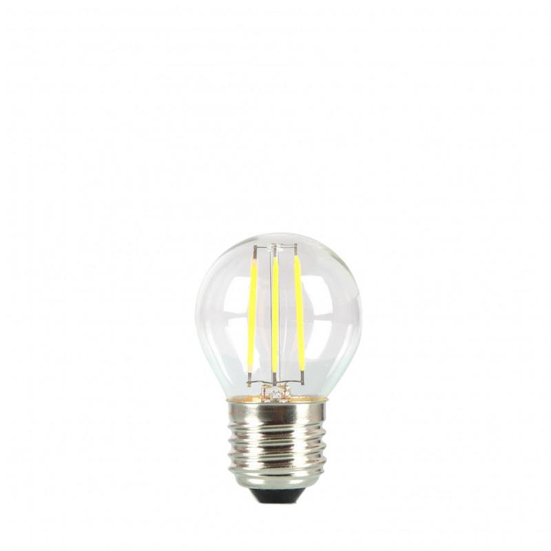 Żarówka do girland LED kulka 45mm 4W przezroczysta barwa ciepła