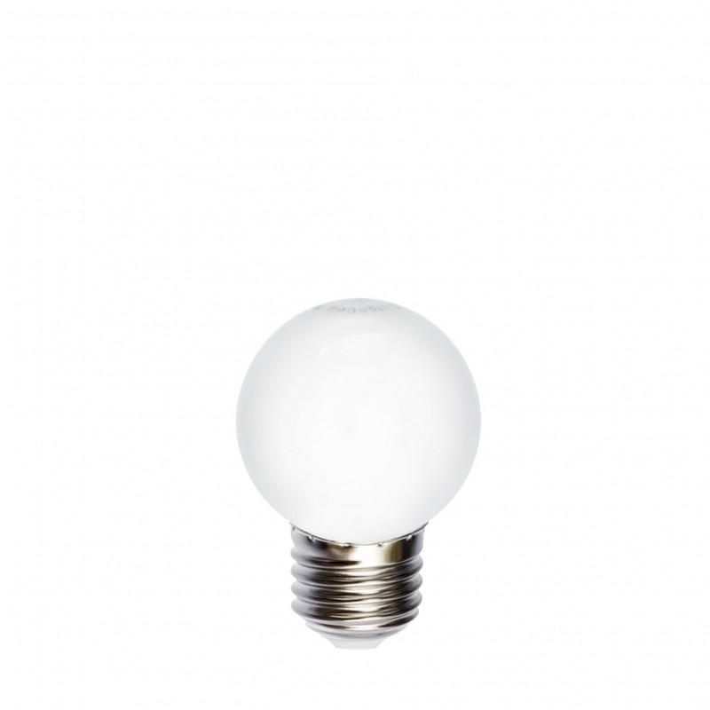 Żarówka do girland LED kulka 45mm 1W RGB