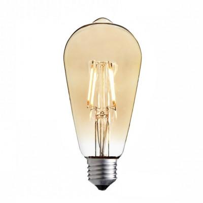 Żarówka dekoracyjna eco Vintage Amber LED ST64 65mm 4W