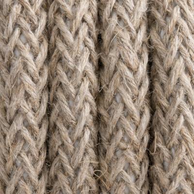 Kabel w oplocie lnianym L02 dwużyłowy 2x0.75