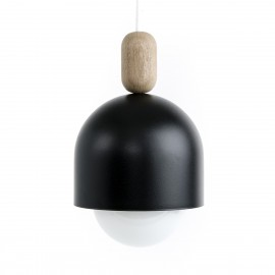 Loft Ovoi czarna lampa wisząca