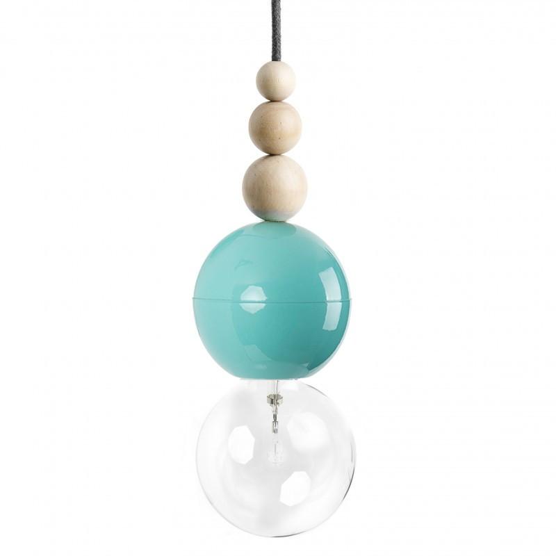 Loft Bala miętowa lampa wisząca