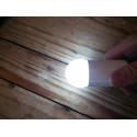 Żarówka do girland LED kulka 45mm 1W zimna biała