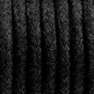 Kabel w oplocie bawełnianym B04 węgiel kamienny trzyżyłowy 3x1
