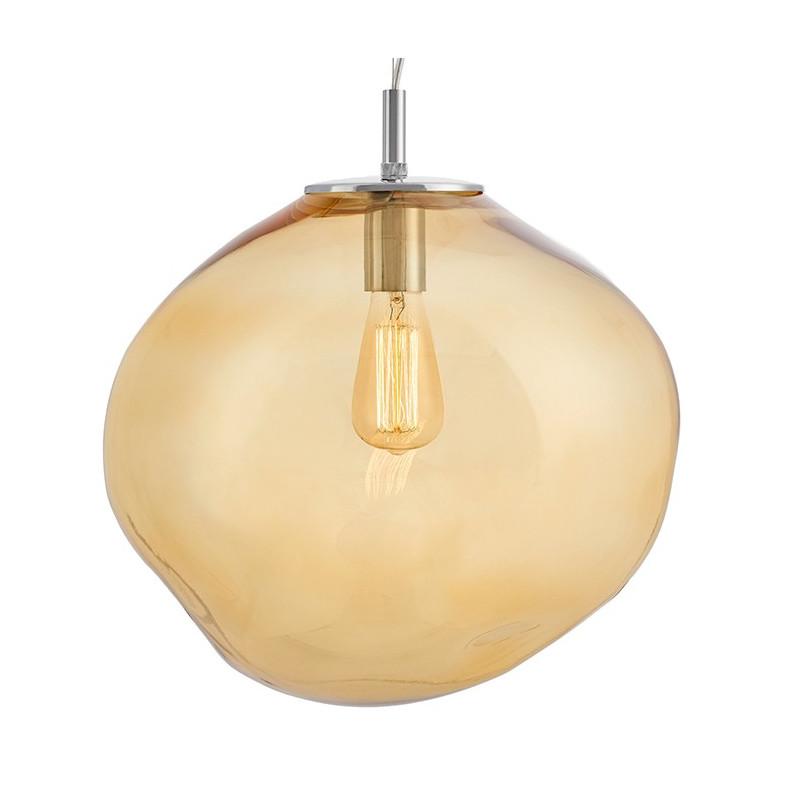 Avia L Pendant Lamp Amber / Honey