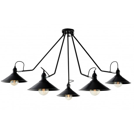 Hats 5 Spider Chandelier Ceiling Lamp