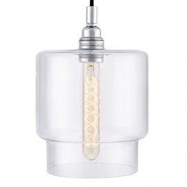Clea Pendant Lamp Transparent
