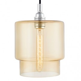 Clea Pendant Lamp Amber / Honey