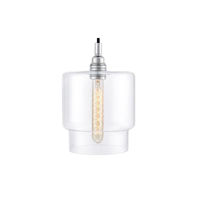 Longis IV lampa wisząca (przewód czarny)