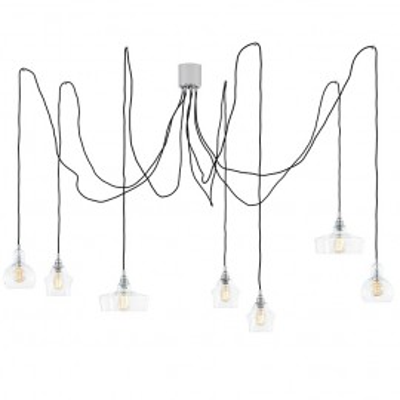 Longis spider 7 lampa wisząca