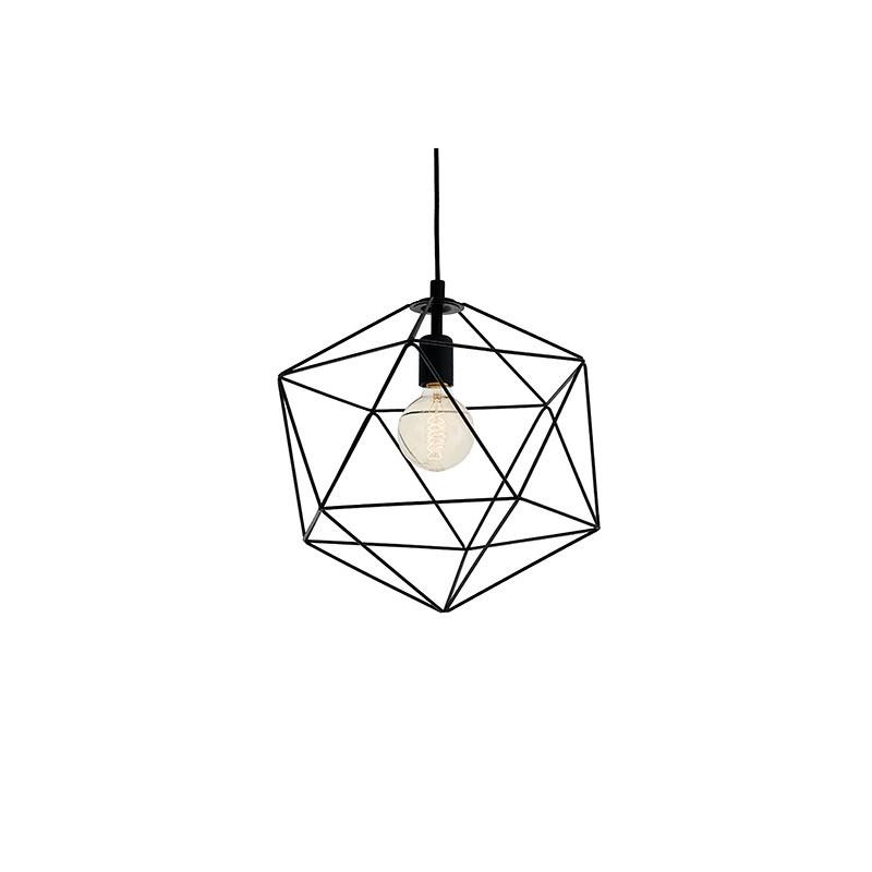 Wire M lampa sufitowa czarna