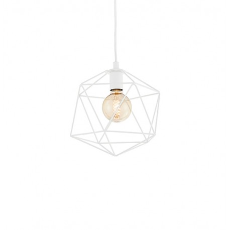 Wire S Pendant Lamp White