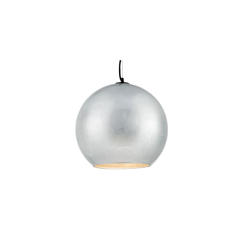 Moon srebrna lampa sufitowa