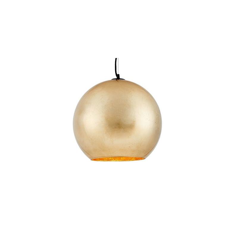 Moon złota lampa sufitowa