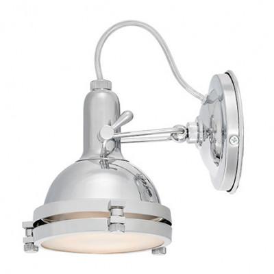 Nautilius chromowana lampa sufitowa / kinkiet
