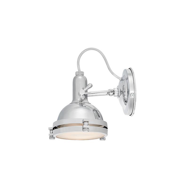 Nautilius Wall Lamp / Ceiling Lamp Chrome