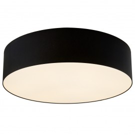 Space XL Plafond / Wall Lamp Black