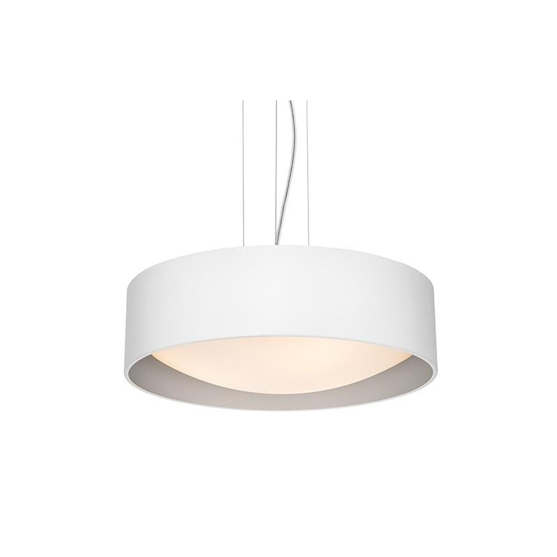 Vero biało/srebrna lampa sufitowa