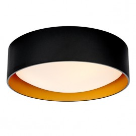 Vero L Plafond / Wall Lamp Black / Gold