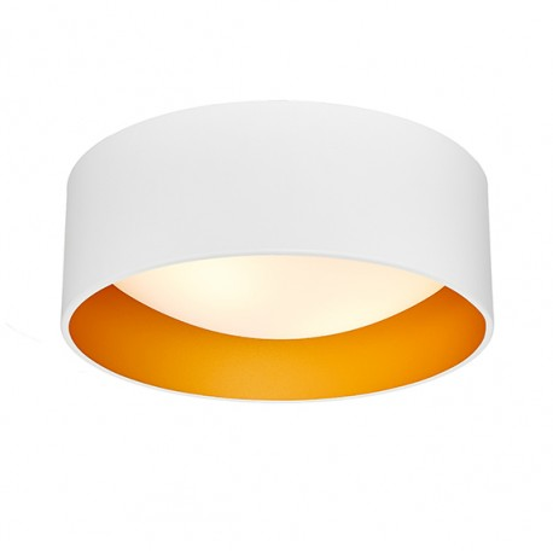 Vero S Plafond / Wall Lamp White / Gold
