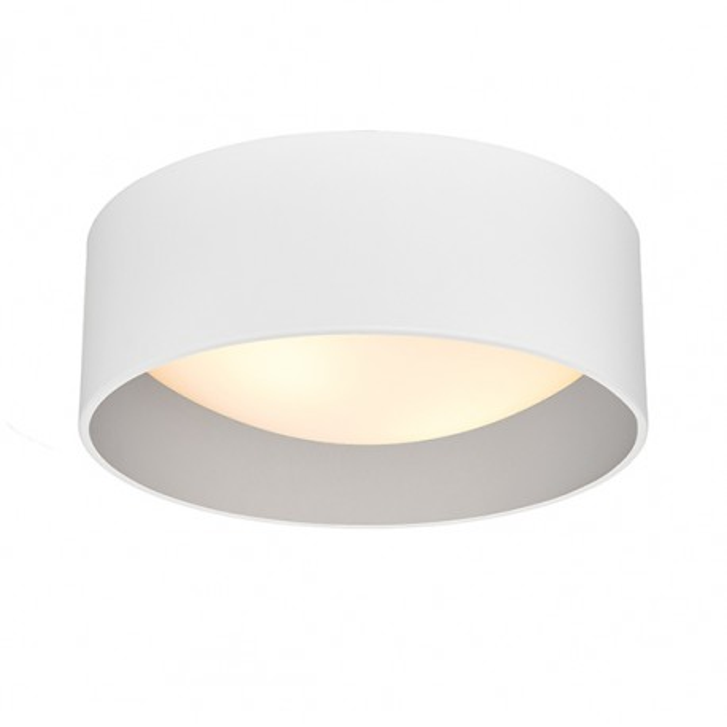 Vero S Plafond / Wall Lamp White / Silver