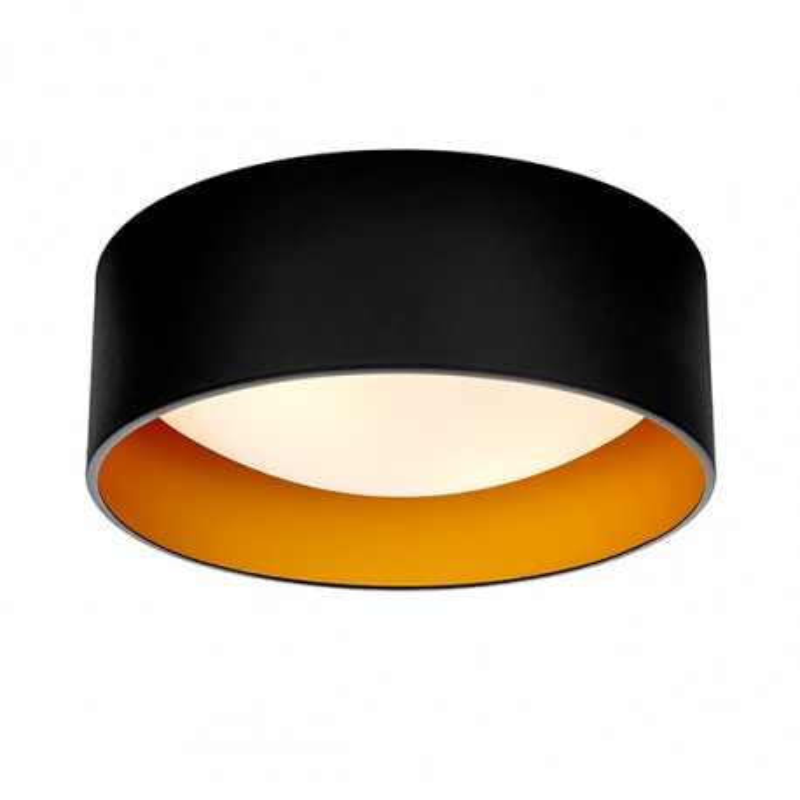 Vero S Plafond / Wall Lamp Black / Gold