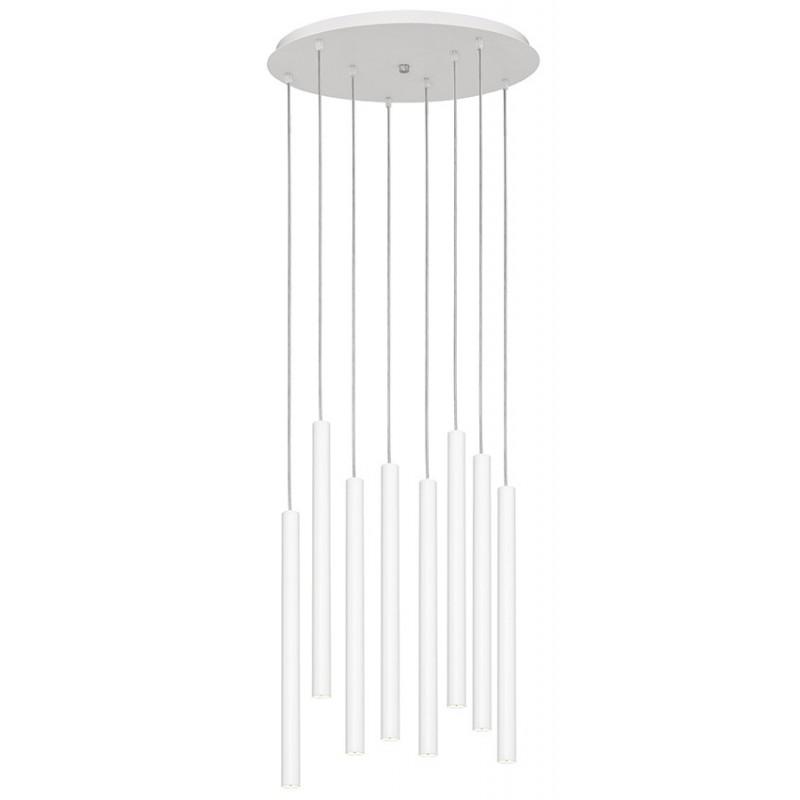 Roll 3 lampa wisząca biała
