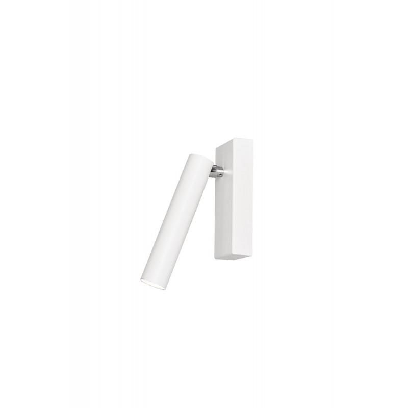 Roll 1 lampa sufitowa/kinkiet biały