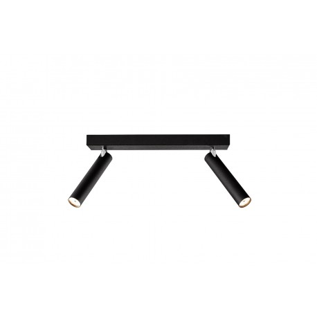 Roll 2 Ceiling Lamp / Wall Lamp Black