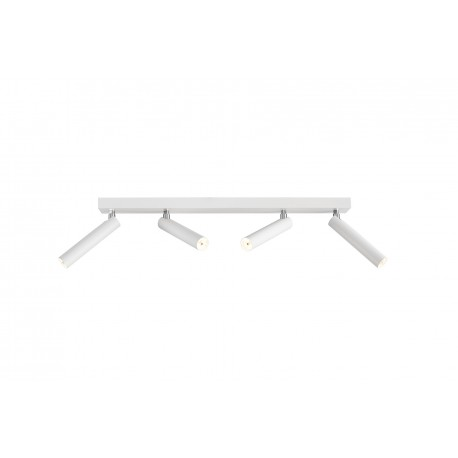 Roll 4 Ceiling Lamp / Wall Lamp White