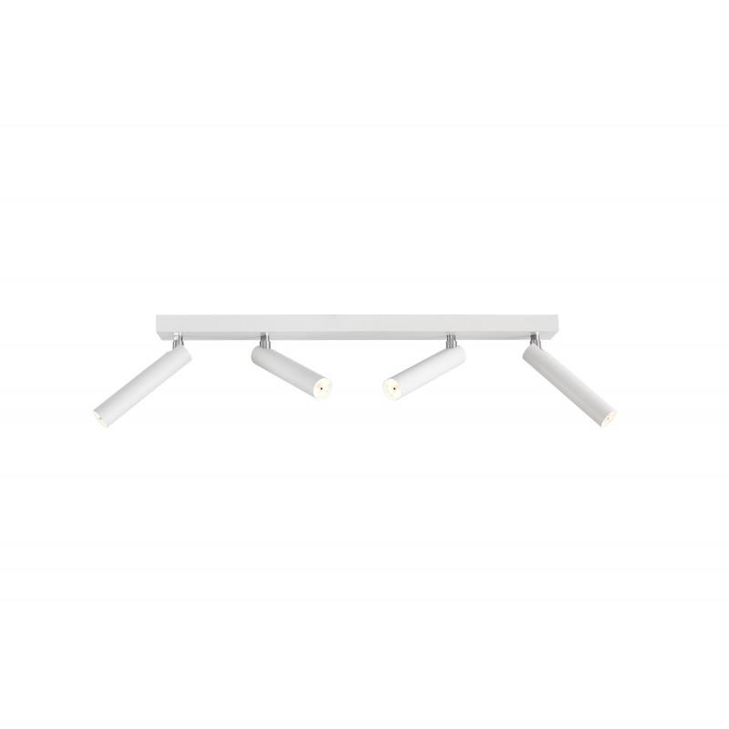 Roll 4 lampa sufitowa/kinkiet biały