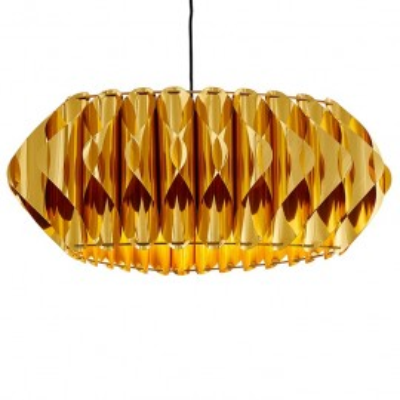 Noe lampa sufitowa złota