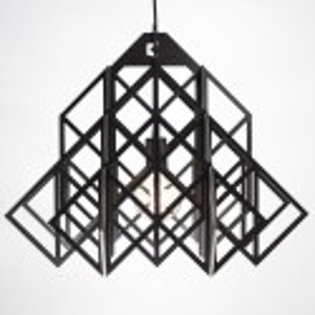Black HIMMELI Pendant Lamp