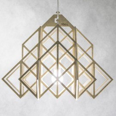Plywood HIMMELI  XL Pendant Lamp