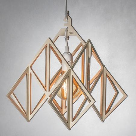 LAJT HIMMELI Pendant Lamp Plywood