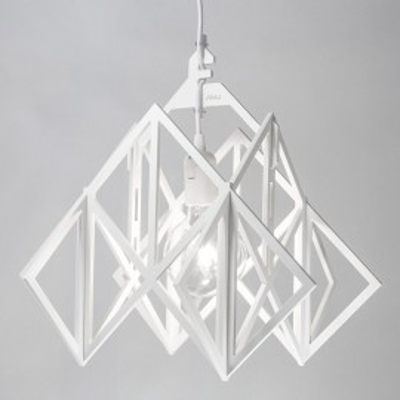 LAJT HIMMELI XL lampa wisząca biała