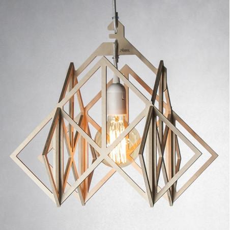 LAJT HIMMELI XL lampa wisząca ze sklejki NASU