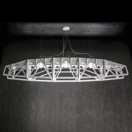 BETWEEN THE EDGES Large Pendant Lamp / Ceiling lamp