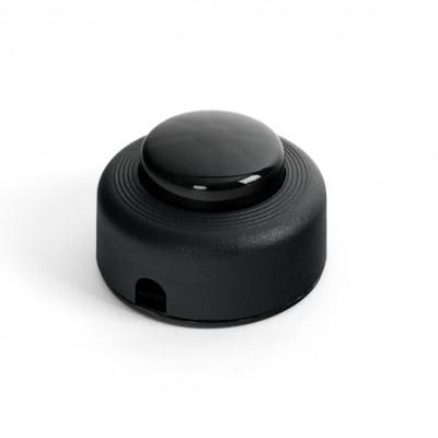 Przełącznik światła nożny w kolorze czarnym