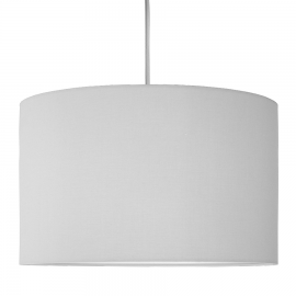 Pure Gray Elegance Lampshade Ø40cm