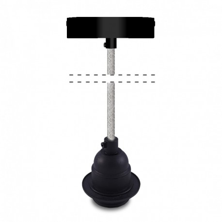 Pendant for lampshade black