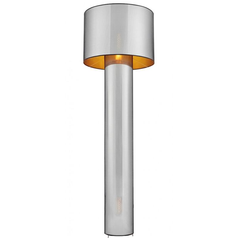 GLAM Floor Lamp Black / Gold / Chrome